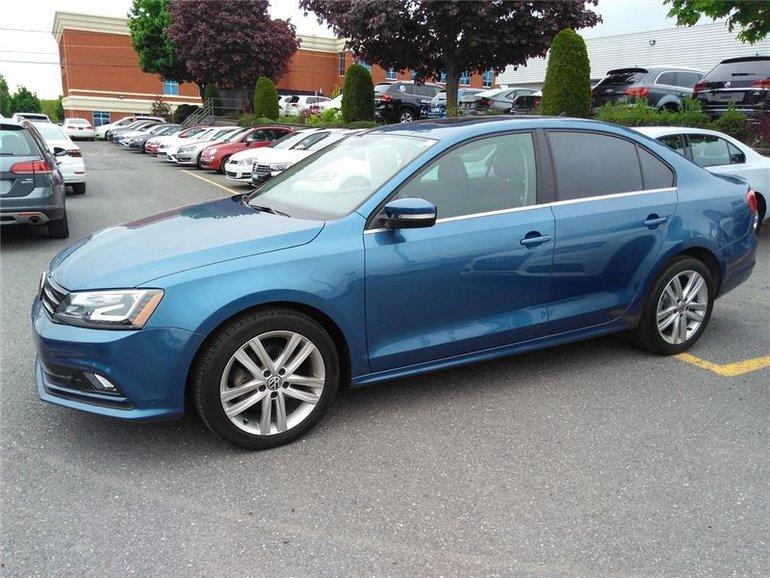 Volkswagen Jetta HIGHLINE TDI CUIR, TOIT OUVRANT, SIEGE CHAUFFANT 2015