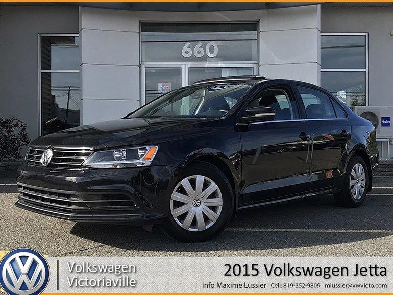 Used 2015 Volkswagen Jetta 1.8T | TOIT | A/C | CRUISE Black 86,983 KM for  Sale - $13500.0 | Volkswagen Victoriaville | #19017A