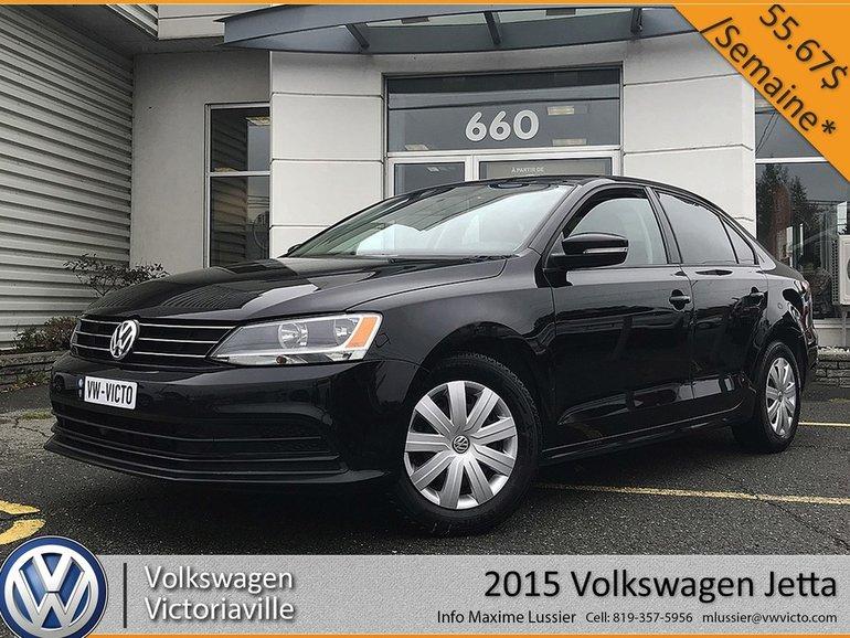 Used 2015 Volkswagen Jetta Trendline+ | CAMERA | BLUETOOTH
