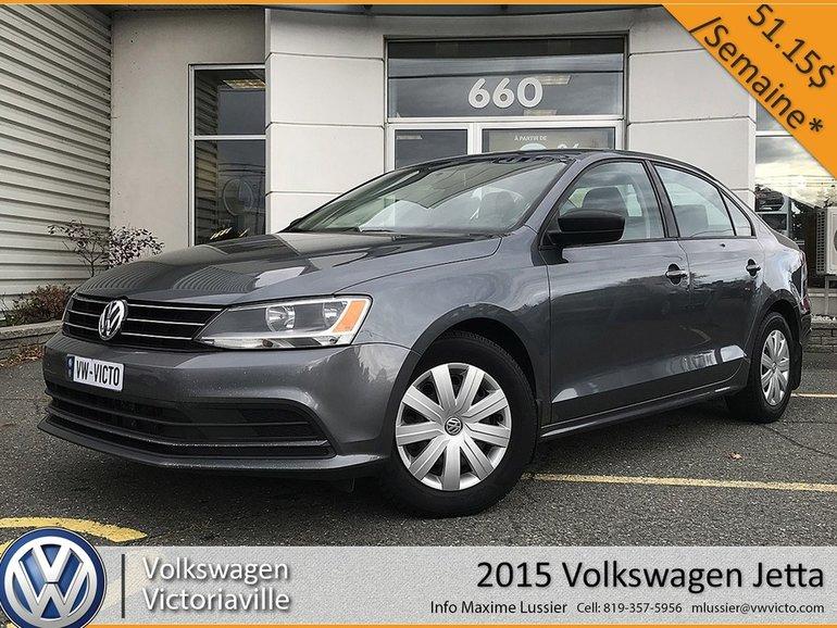 Volkswagen Jetta Trendline | BLUTOOTH | CAMÉRA 2015