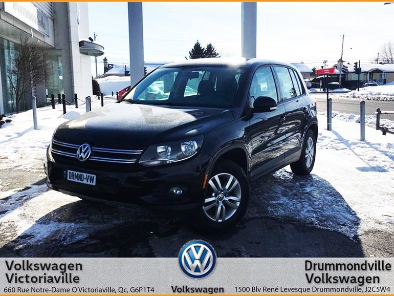 Volkswagen Tiguan TRENDLINE 4MOTION   ÉQUIPEMENT COMPLET 2012