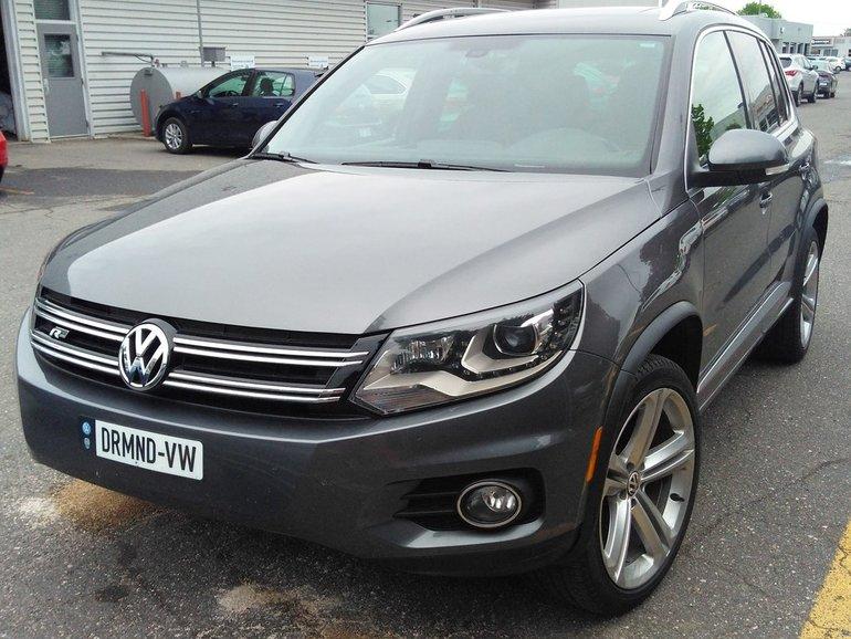 2013 Volkswagen Tiguan 2.0 TSI Highline, 4MOTION, R-LINE