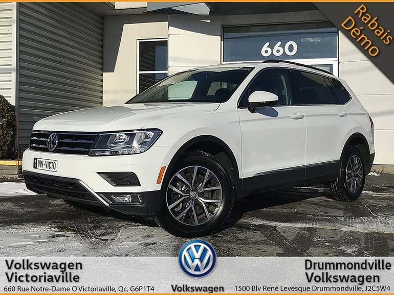 Volkswagen Tiguan Comfortline | GPS | TOIT | 7 PLACES 2018