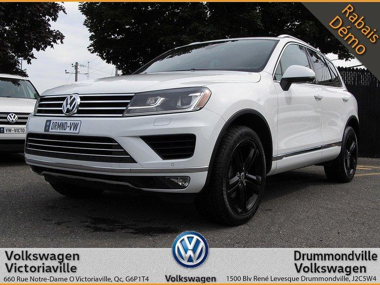 Volkswagen Touareg 3.6L Wolfsburg | CUIR | TOIT PANO | GPS 2017