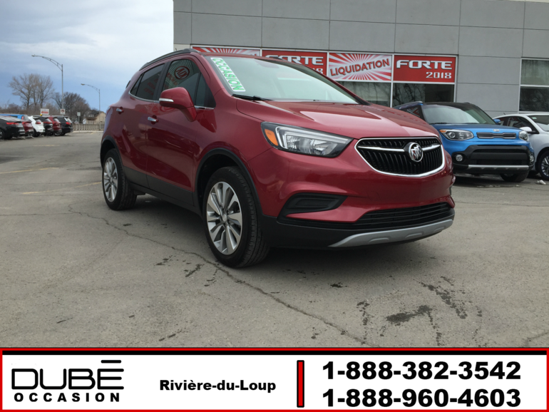 Buick Encore PREFERRED AWD  92$/sem tout inclus 2018