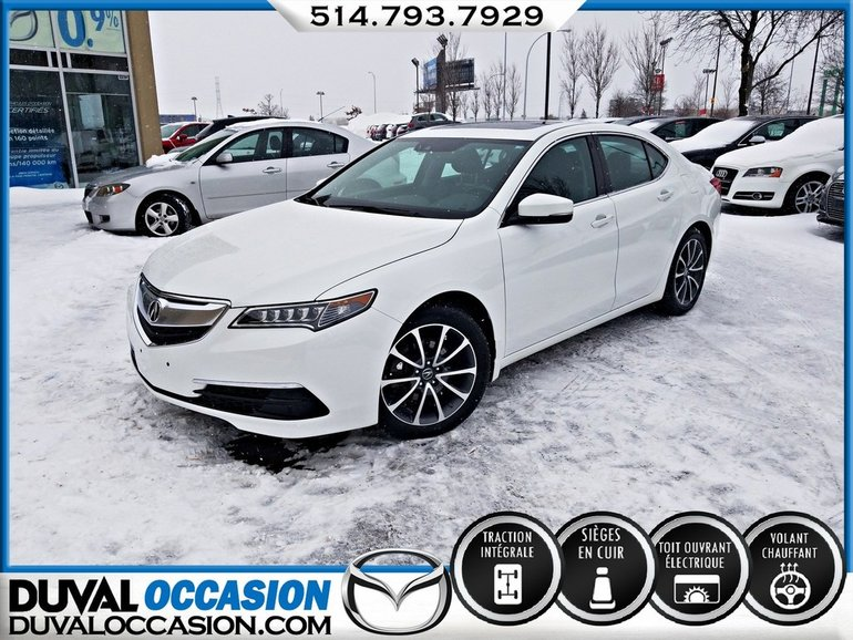 Acura TLX V6 + AWD + NAVIGATION + CUIR + TOIT OUVRANT 2015