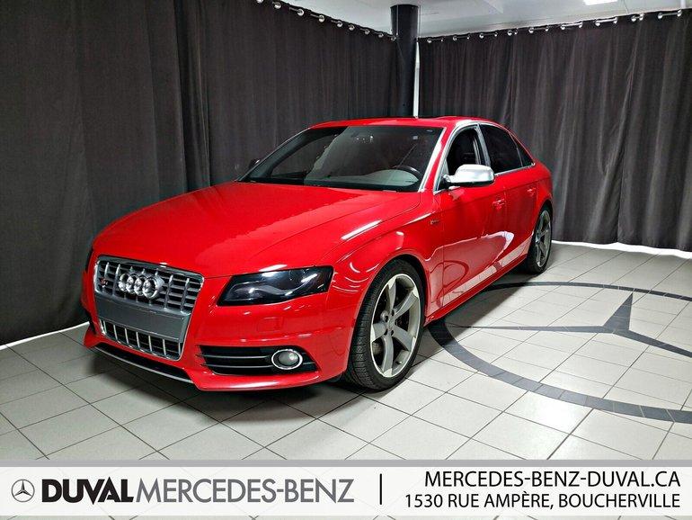 2012 Audi S4 3.0 Premium (M6)