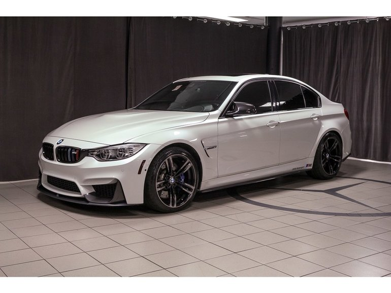 Bmw M3 A Vendre >> Pre Owned 2016 Bmw M3 Carbon Package For Sale 59775 0