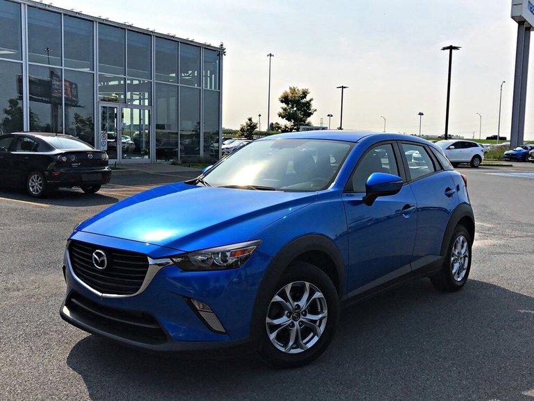 2016 Mazda CX-3 GS + TOIT OUVRANT + SIÈGES CHAUFFANTS