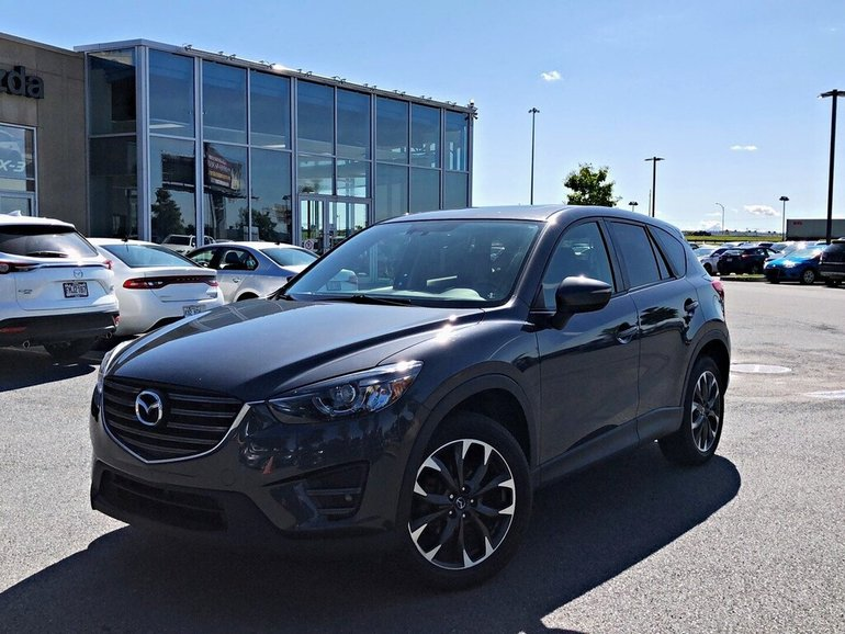 2016 Mazda CX-5 GT + TOIT OUVRANT + CUIR + NAVIGATION