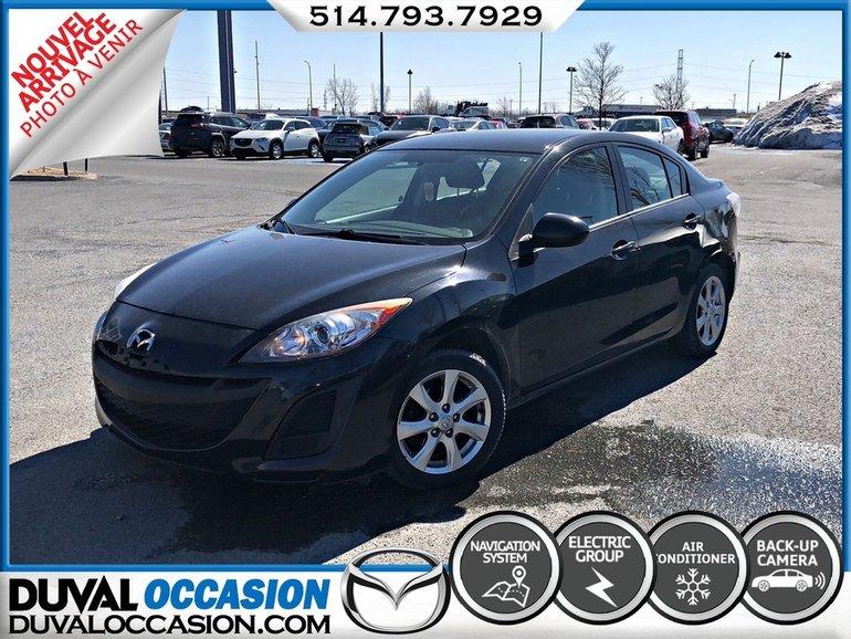 Mazda Mazda3 GX + ECRAN TACTILE + BLUETOOTH + NAVIGATION 2011