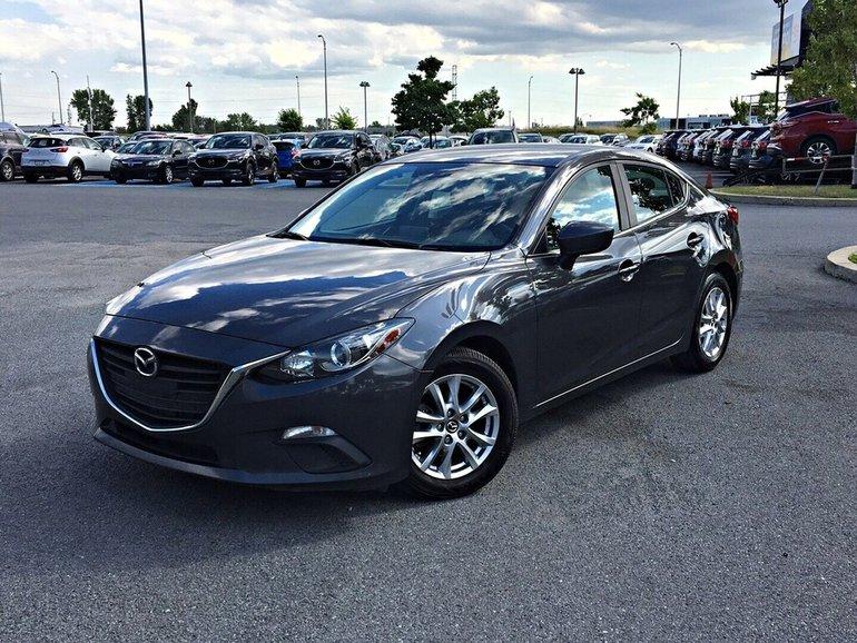 Mazda3 GS + SIÈGES CHAUFFANT + CAMERA DE RECUL 2015