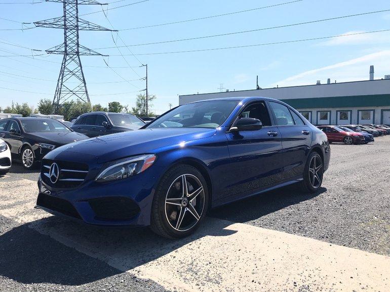 2018 Mercedes-Benz C300 RABAIS DEMO 7500$ AUDIO BURMESTER