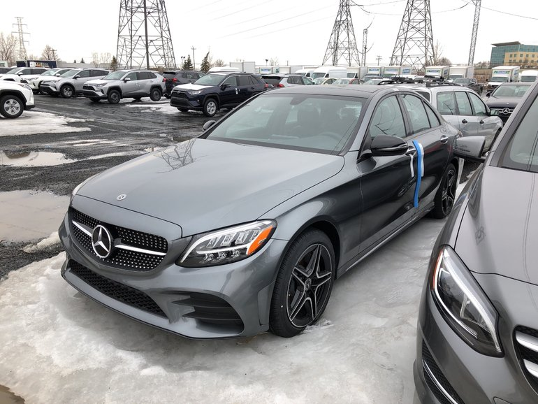 2019 Mercedes-Benz C300 4matic Sedan