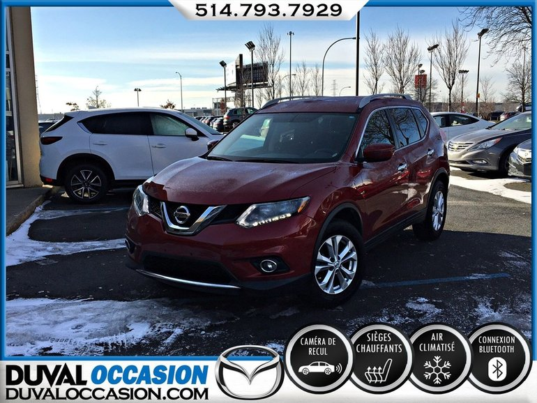Nissan Rogue SV + SIEGES CHAUFFANTS + CLIMATISATION 2016