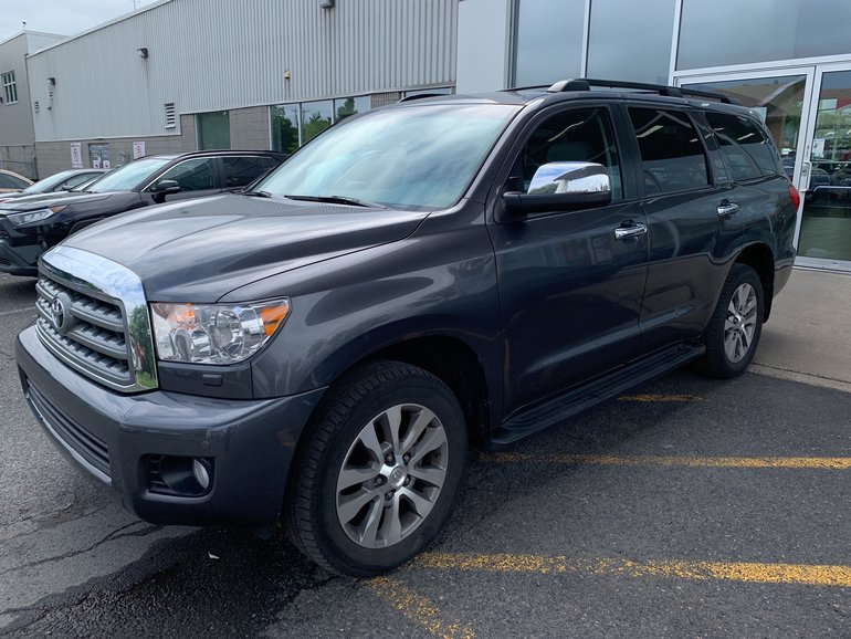 Toyota Sequoia Limited 4X4 8 PASSAGERS BLUETOOTH GPS 2016