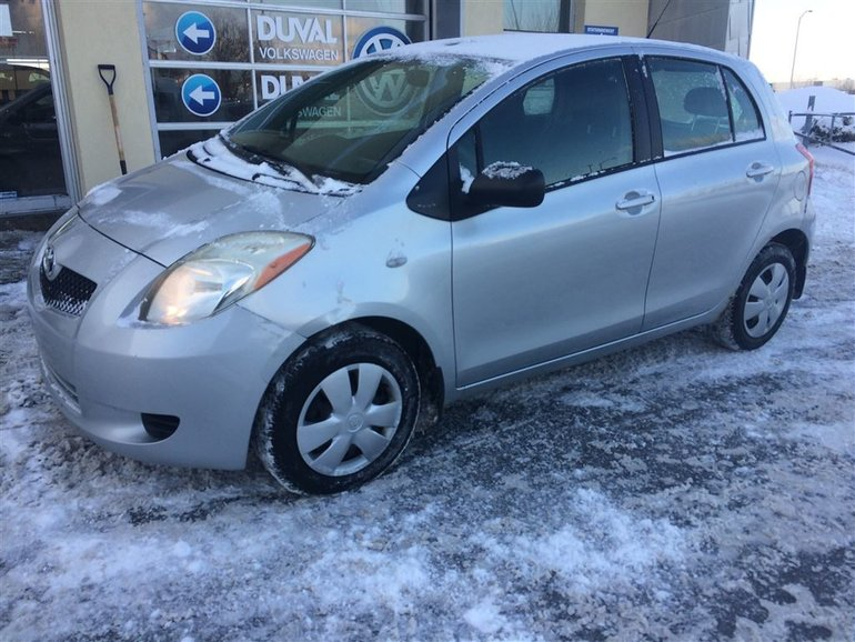 Used 2007 Toyota Yaris Le Hatchback For Sale 2495 0 Duval Volkswagen