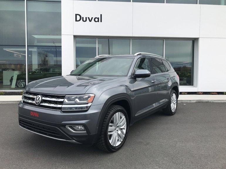 Volkswagen Atlas ***EXECLINE*** SPÉCIAL DÉMO RABAIS 7000$*** 2018