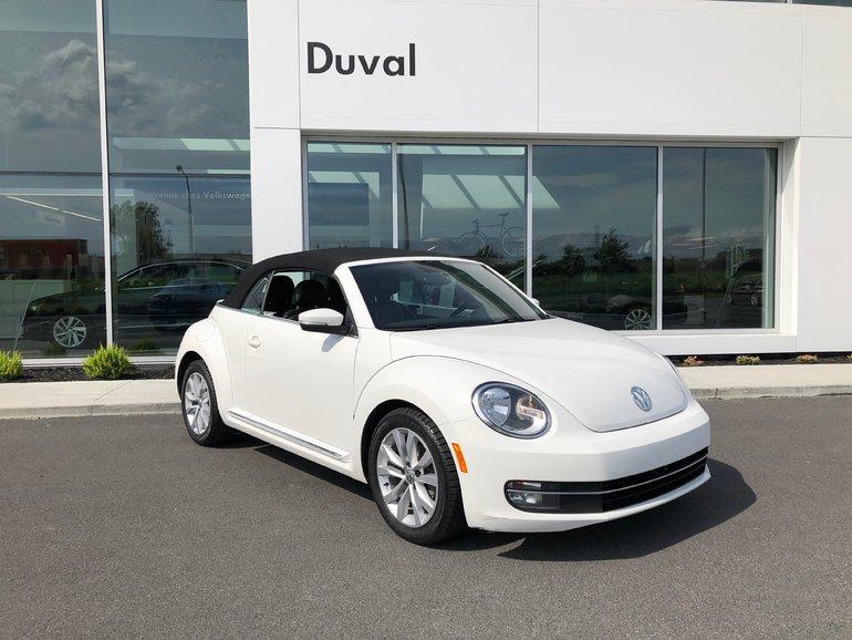 Volkswagen Beetle Convertible Highline 2013
