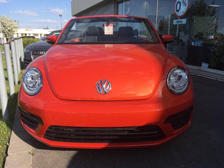 2018 Volkswagen BEETLE DÉCAPOTABLE TRENDLINE
