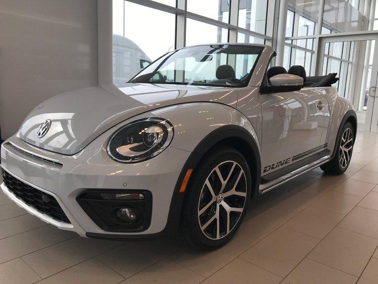2018 Volkswagen BEETLE DÉCAPOTABLE DUNE