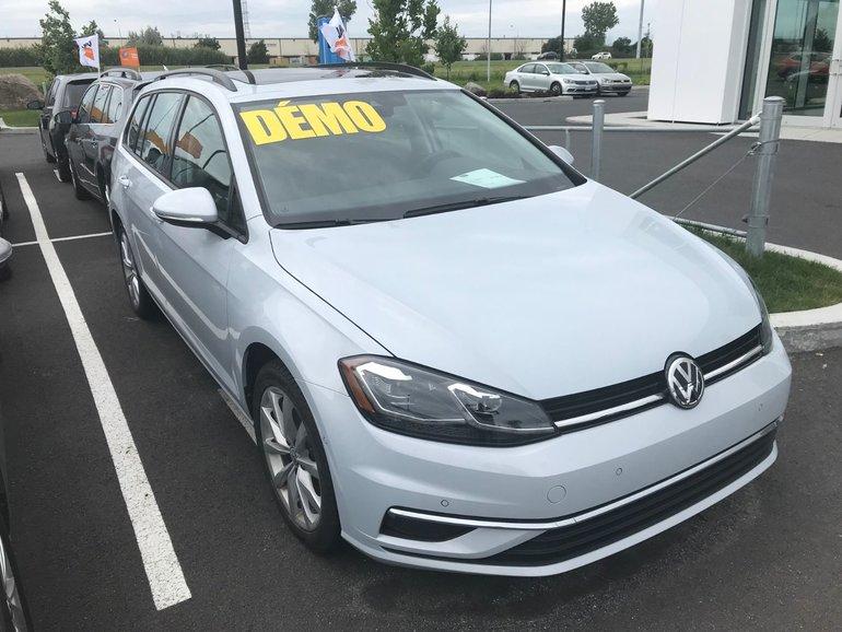 2018 Volkswagen GOLF SPORTWAGEN ***SPÉCIAL DÉMO*** COMFORTLINE AUTOMATIQUE