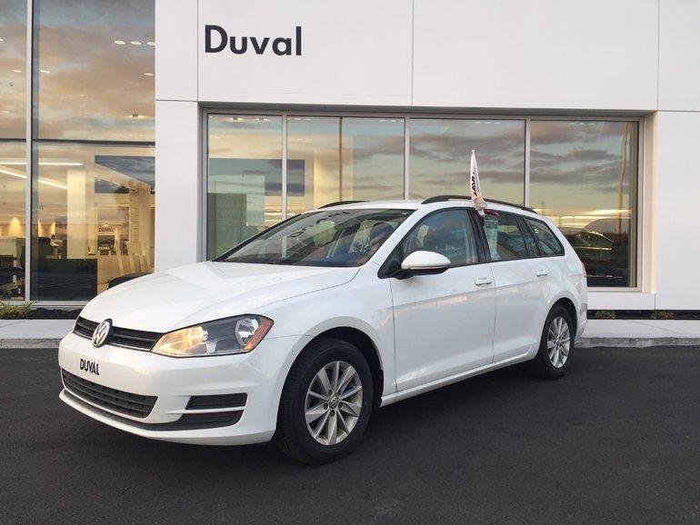 Volkswagen Golf Sportwagon Trendline AUTOMATIQUE 2015