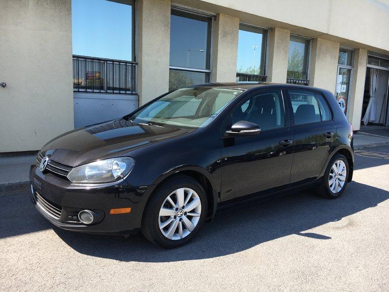 Volkswagen Golf ; TDI; DIESEL 2012