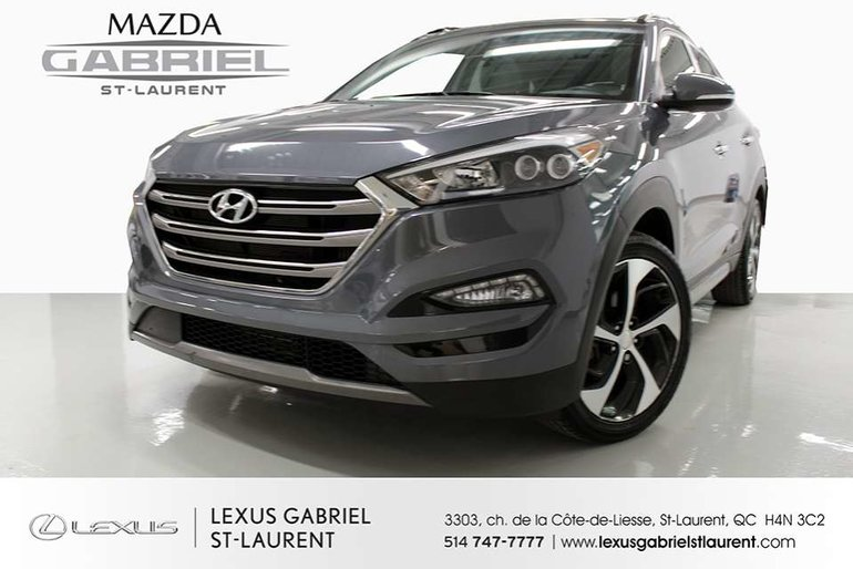 Hyundai Tucson ULTIMATE AWD +CUI + TOIT PANORAMIQUE + NAV GPS 2016