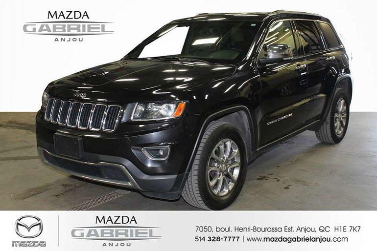 2014 Jeep Grand Cherokee Limited 4WD+PNEU