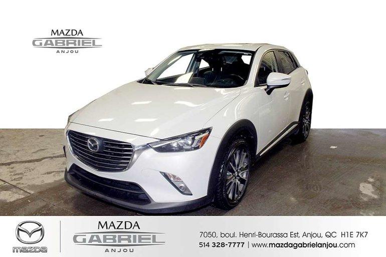 Mazda CX-3 GT+AWD+GPS PNEU HIVER + ETE 2016