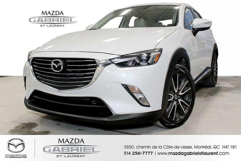 2016 Mazda CX-3 GT AWD + GPS NAV  SEUELEMENT 36 000KM +  TOIT