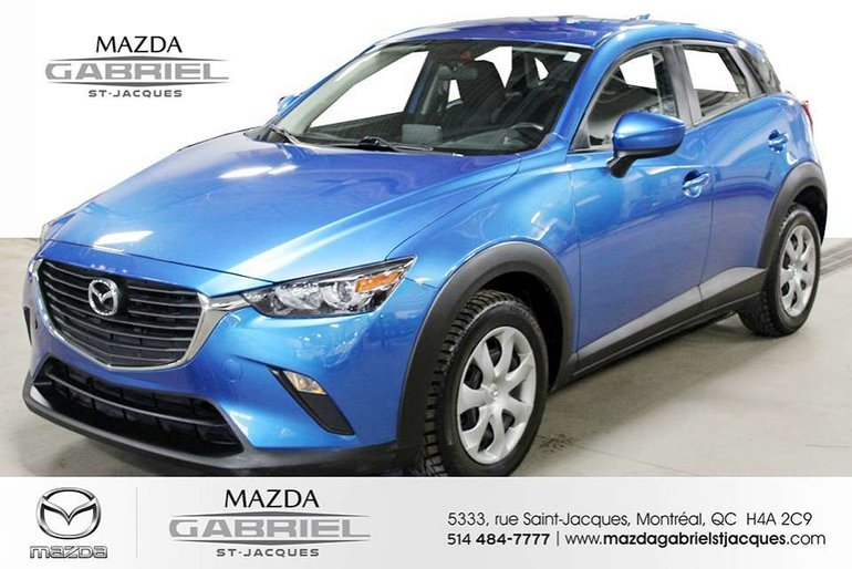 2016 Mazda CX-3 GX AWD +BLUETOTH+CRUISE+CAMERA DE RECUL