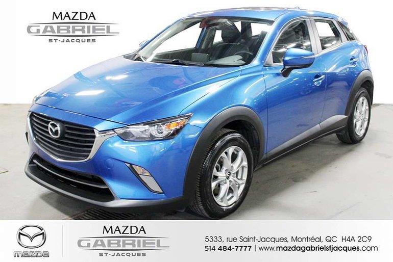 Mazda CX-3 GS AWD +BLUETOOTH+CRUISE+CAMERA DE RECUL+CUIR 2016