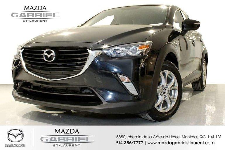 Mazda CX-3 GS + SEULEMENT 21 000KM + JAMAIS ACCIDENTE + UN SEUL PROPRIO 2016