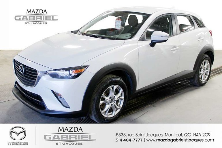 2017 Mazda CX-3 GS AWD +BLUETOOTH+CRUISE+CAMERA DE RECUL