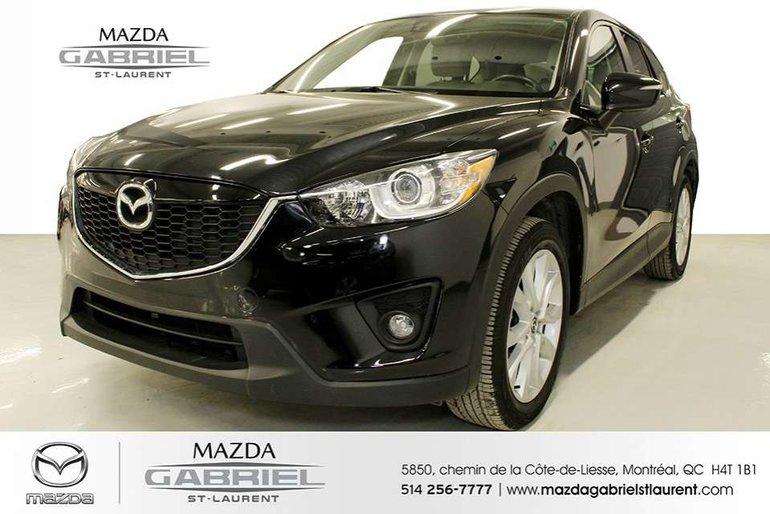 Mazda CX-5 GT AWD TECH +  JAMAIS ACCIDENTE + UN SEUL PROPRIO 2015