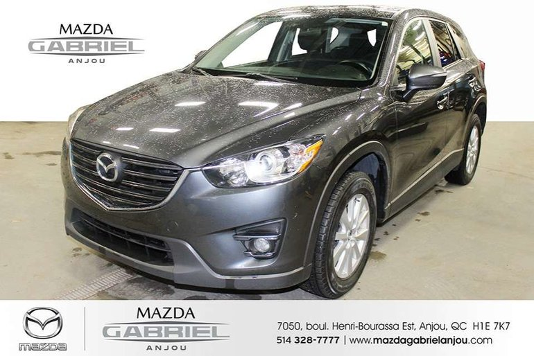 Mazda CX-5 GS+AWD+GPS JAMAIS ACCIDENTE 2016