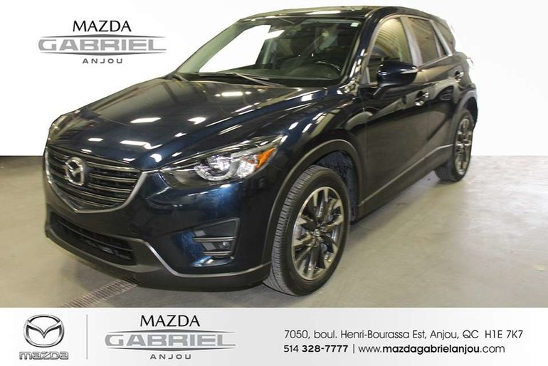 Mazda CX-5 Grand Touring AWD DEMARREUR A DISTANCE+ AWD+ SUNROOF+ CUIR+ BACK UP CAMERA+ HEATED SEATS+ AC+ BOSE SOUND SYSTEM+ DETECTEUR ANGLE 2016