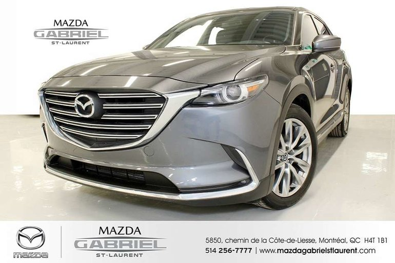 2016 Mazda CX-9 GT AWD + JAMAIS ACCIDENTE + CUIR