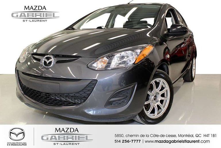 2014  Mazda2 GX+ A/C GRP ELECTRIQUES + JAMAIS ACCIDENTE