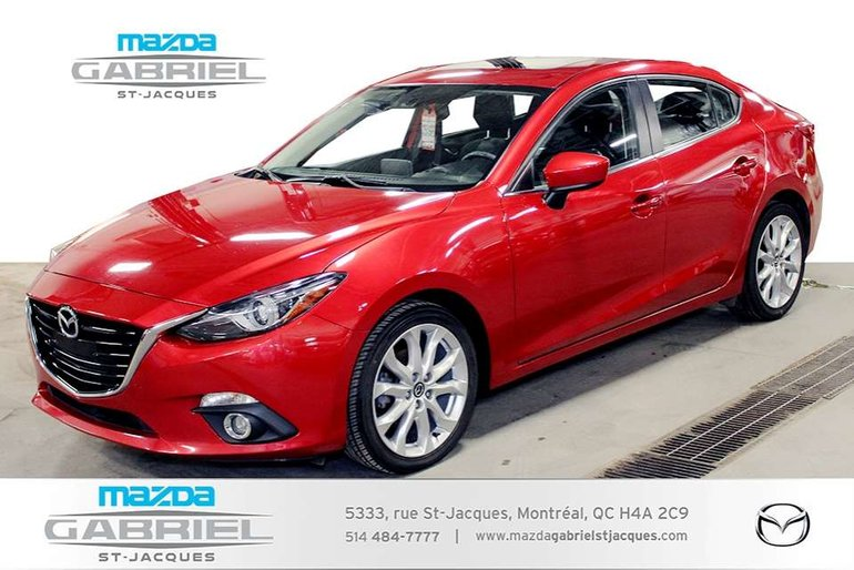 Mazda Mazda3 GT +BLUETOOTH+CRUISE+CAMERA DE RECUL 2014