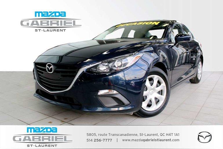 2016 Mazda Mazda3 GX+ BLUETOOTH+  CAMERA DE RECUL