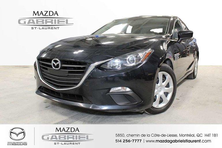 Mazda3 SPORT GX + A/C +   + CAMERA DE RECUL 2016