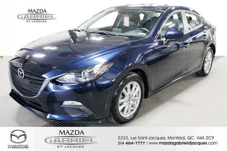 Mazda3 GS +BLUETOOTH+CRUISE+CAMERA DE RECUL 2016