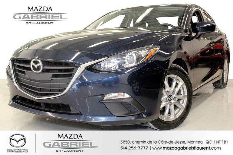 Mazda3 GS + BLUETOOTH+  UN SEUL PROPRIO + JAMAIS ACCIDENTE 2016