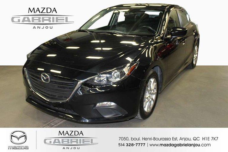 2016  Mazda3 GS+PNEUS+DÉMARREU ************ 1 SEUL PROPRIÉTAIRE************