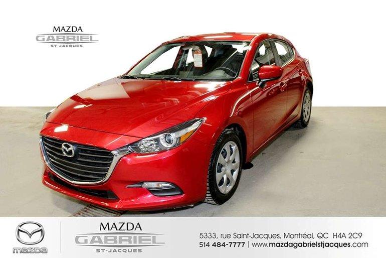 Mazda3 GX +B LUETOOTH+CRUISE+CAMERA DE RECUL 2017