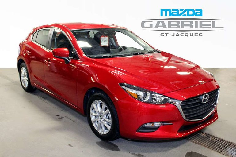 2018 Mazda Mazda3 GS  +BLUETOOTH+CRUISE+CAMERA DE RECUL