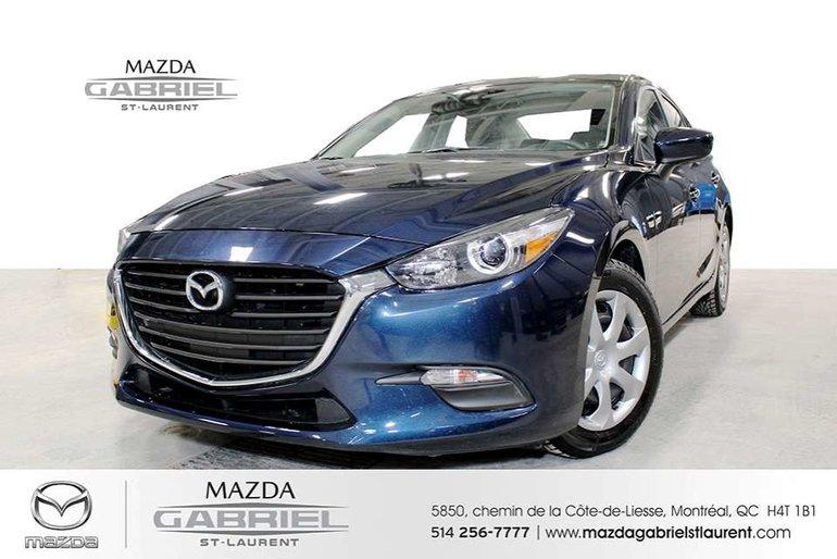 2018 Mazda Mazda3 GX+ BLUETOOTH+  CAMERA DE RECUL +JAMAIS ACCIDENTE
